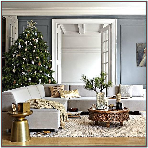 How To Decorate Your Small Living Room For Christmas