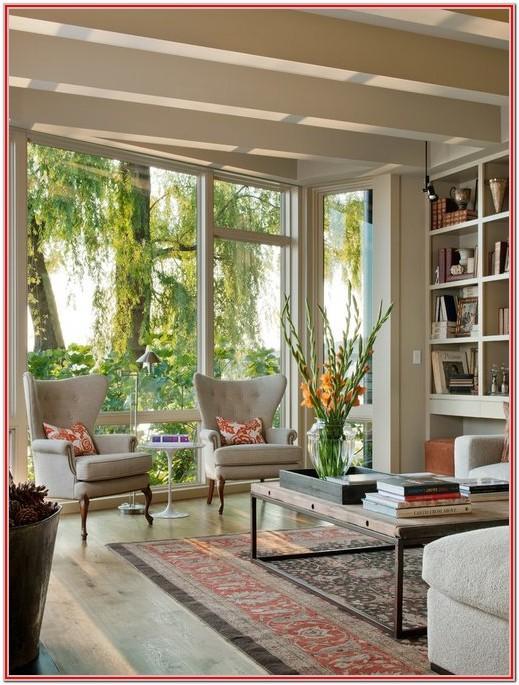 Huge Living Room With Windows Ideas