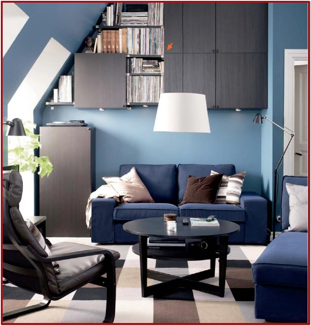 Ikea Kivik Living Room Ideas Dark Blue