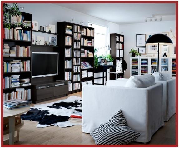 Ikea Living Room Library Ideas