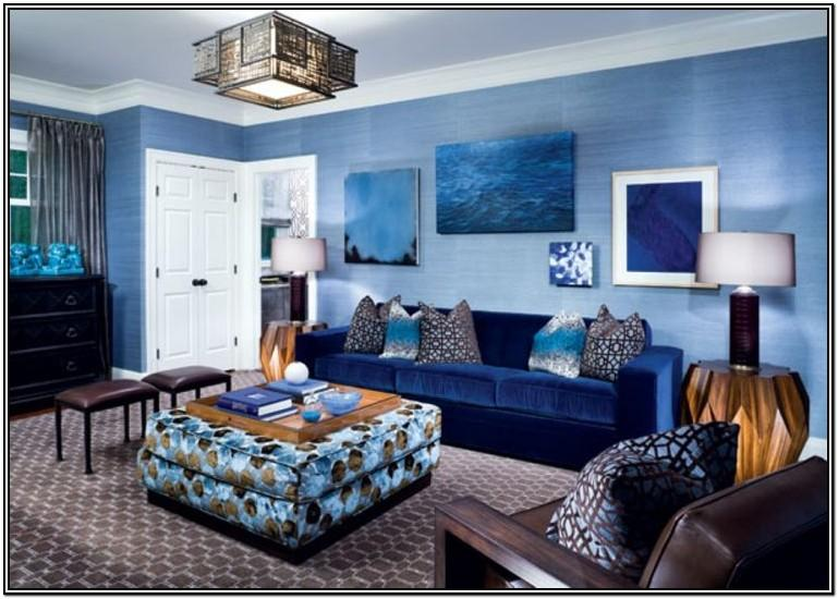 Interior Design Blue Carpet Living Room