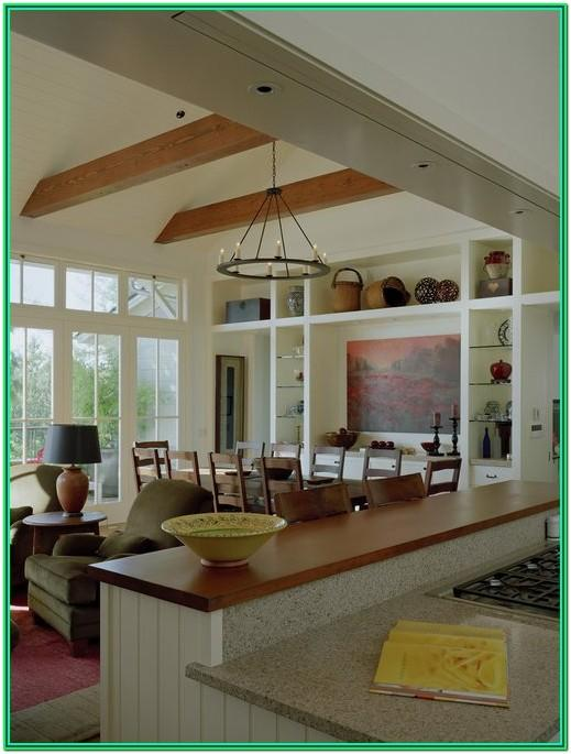 Kitchen And Living Room Combo