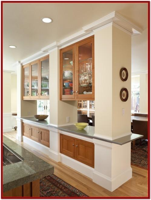 Kitchen Living Room Divider