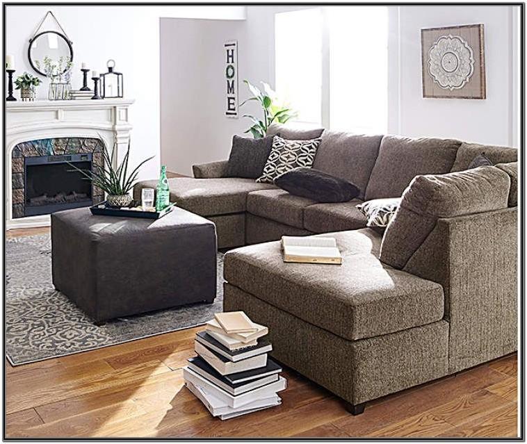 Lane Passage Mocha Living Room Sectional