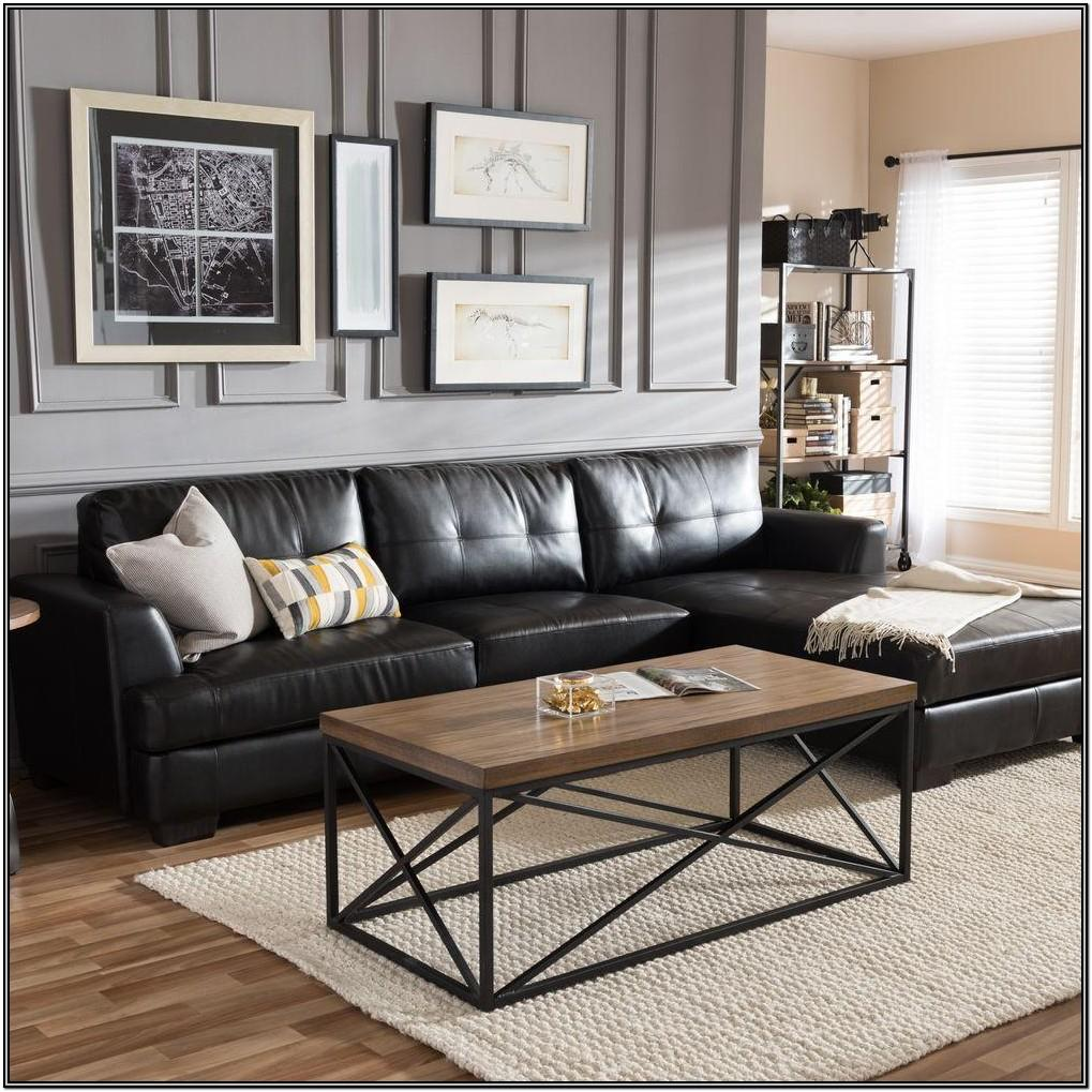 Leather Black Couch Living Room Ideas