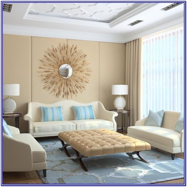 Light Beige Color Living Room