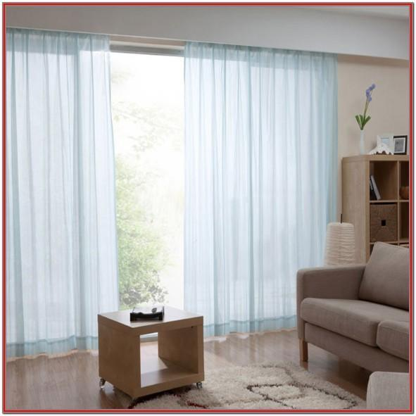Light Blue Living Room Curtains