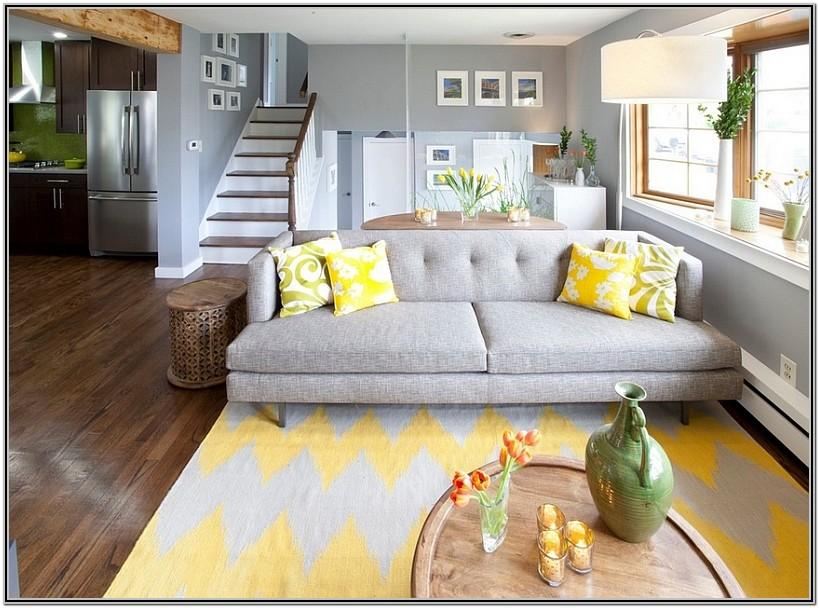 Light Yellow Couch Living Room