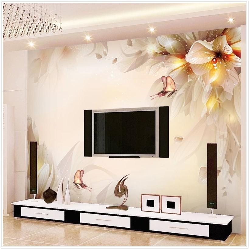Living Room 3d Wall Painting Ideas