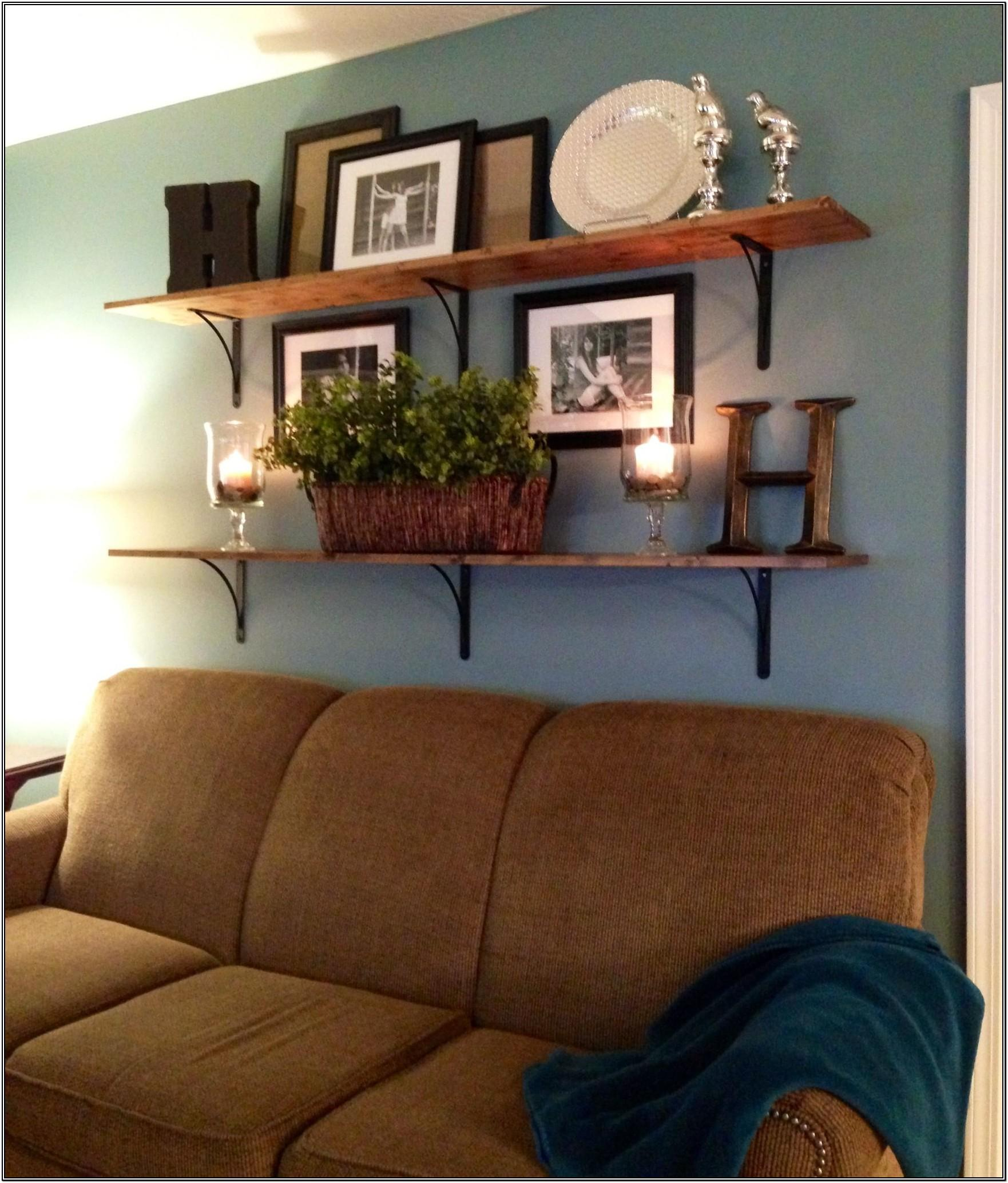Living Room Above Sofa Wall Decor