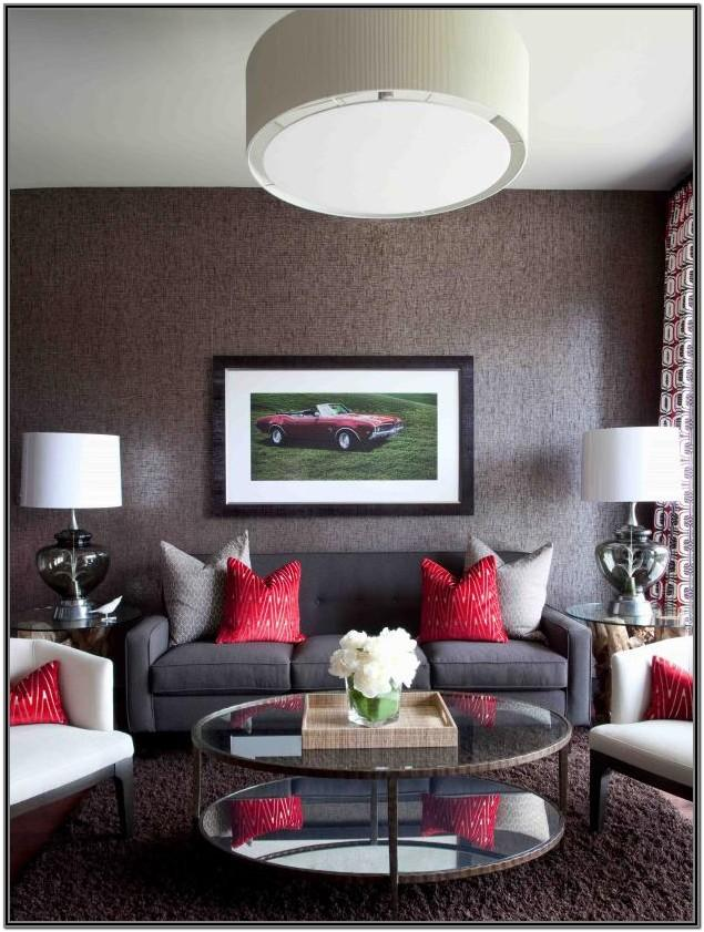 Living Room Accent Colors For Gray