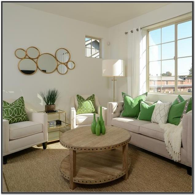 Living Room Accent Colors For Green