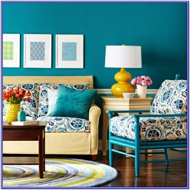 Living Room Blue Wall Paint Ideas