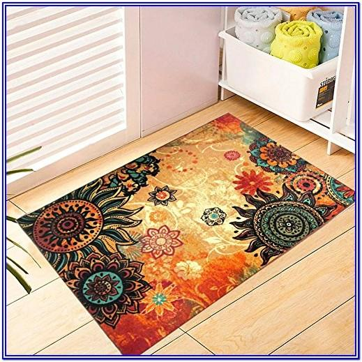 Living Room Bohemian Area Rugs