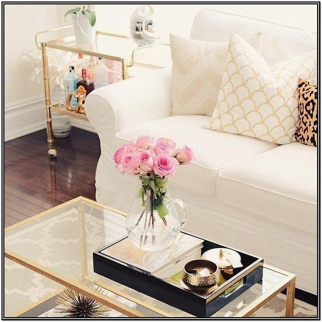 Living Room Coffee Table Centerpieces Ideas