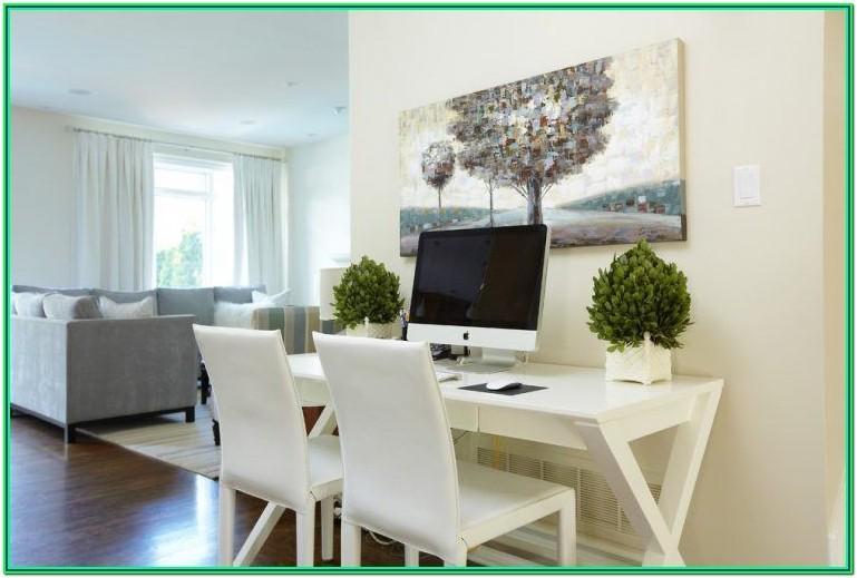 Living Room Computer Desk Ideas