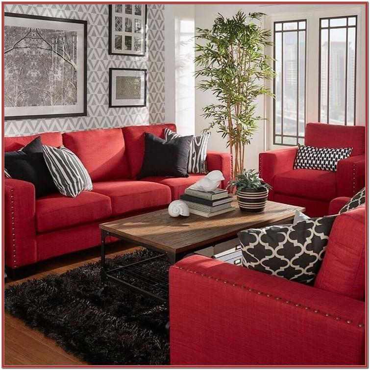 Living Room Curtains For Red Walls