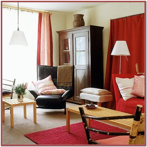 Living Room Curtains To Match Red Sofa