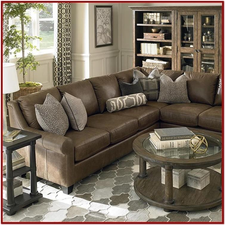 Living Room Decor With Sectional Sofa
