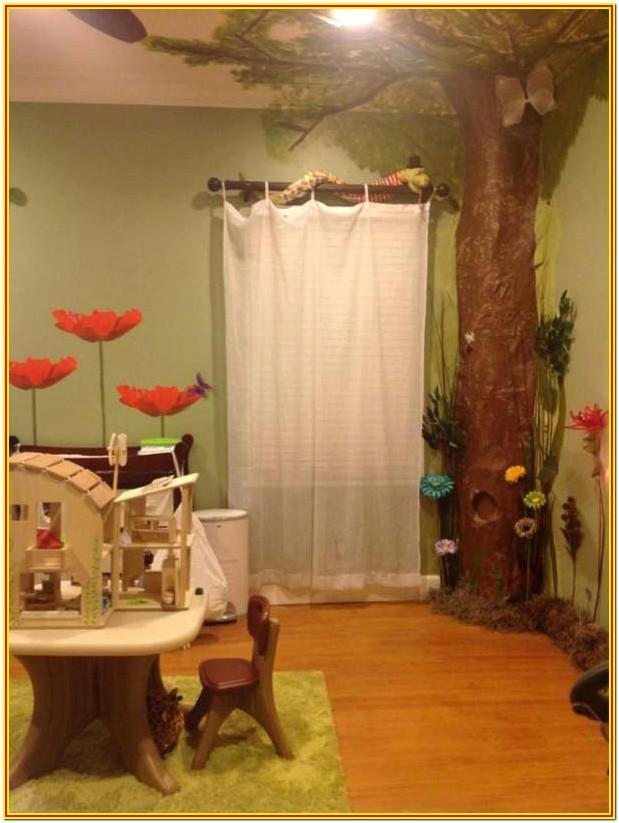 Living Room Decorated With Fairy Theme