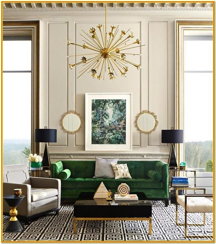Living Room Decorating Ideas Art Deco