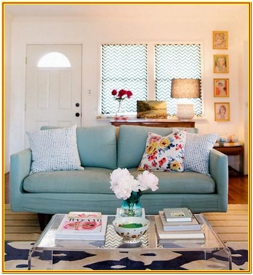 Living Room Decorating Ideas Blue Couch