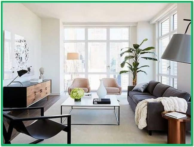 Living Room Design For Small Space With Tv