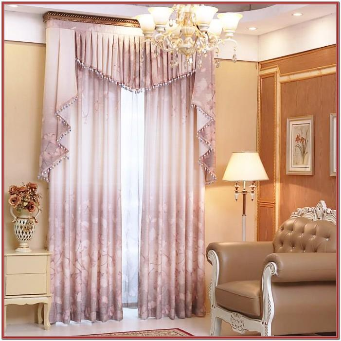 Living Room Elegant Window Curtains