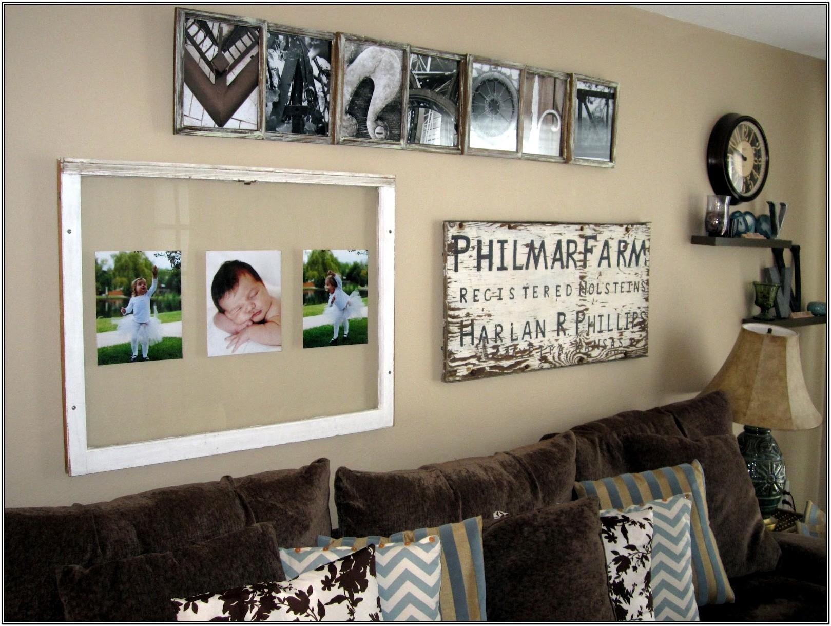 Living Room Family Sign Decor
