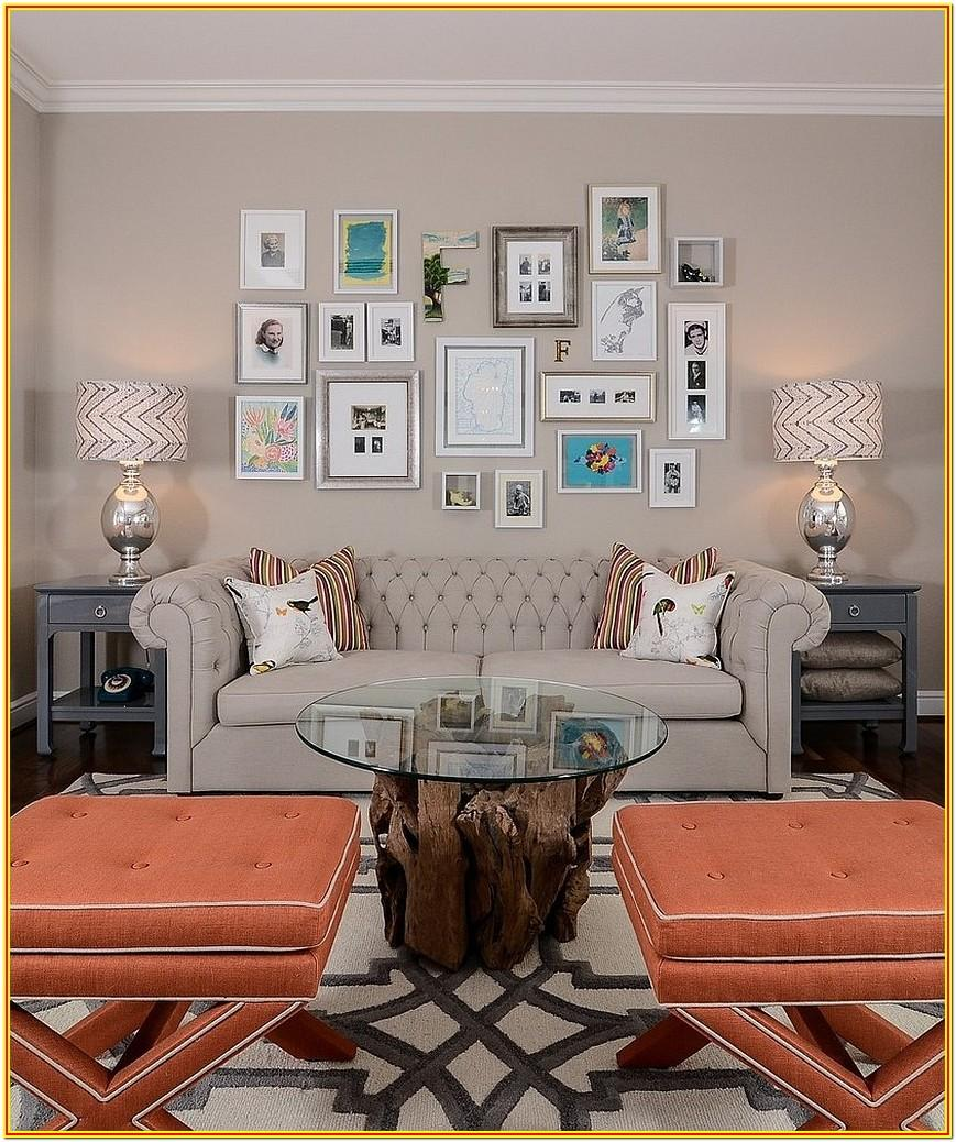 Living Room Gallery Wall Layout
