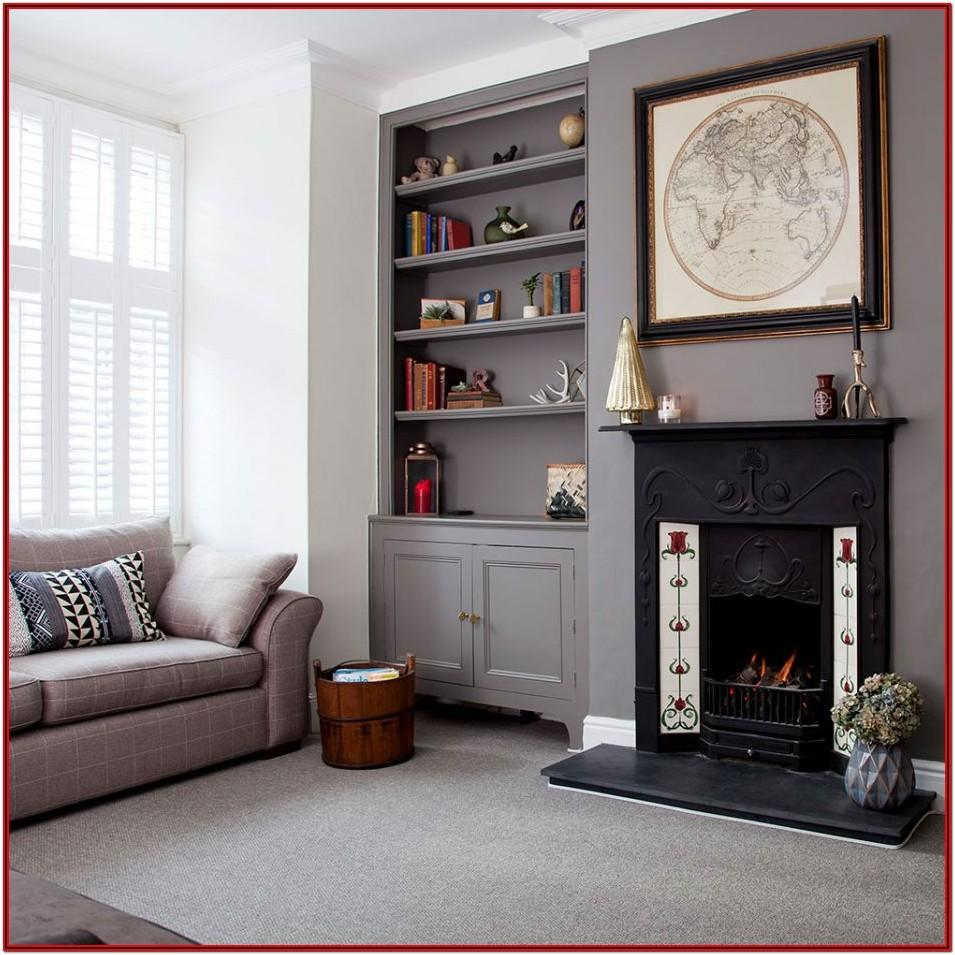 Living Room Gray Wall Paint Ideas