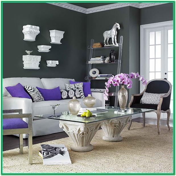 Living Room Grey Sofa Colour Scheme Ideas