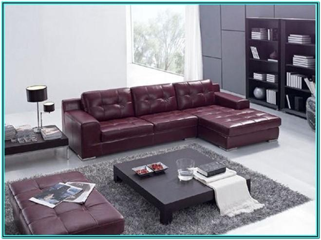 Living Room Ideas With Burgundy Leather Sofa