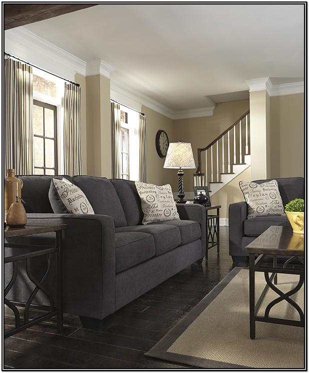 Living Room Ideas With Charcoal Gray Sofa