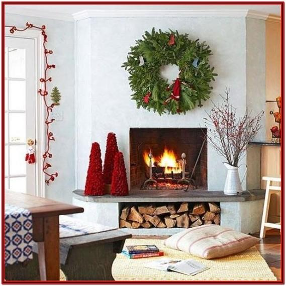 Living Room Indoor Simple Christmas Decorations
