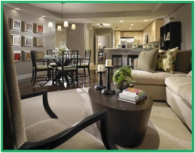 Living Room Kitchen Dining Room Combo Design Ideas