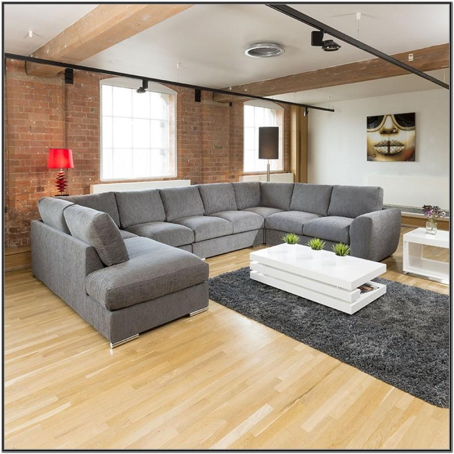 Living Room L Shape Sofa With Corner Table