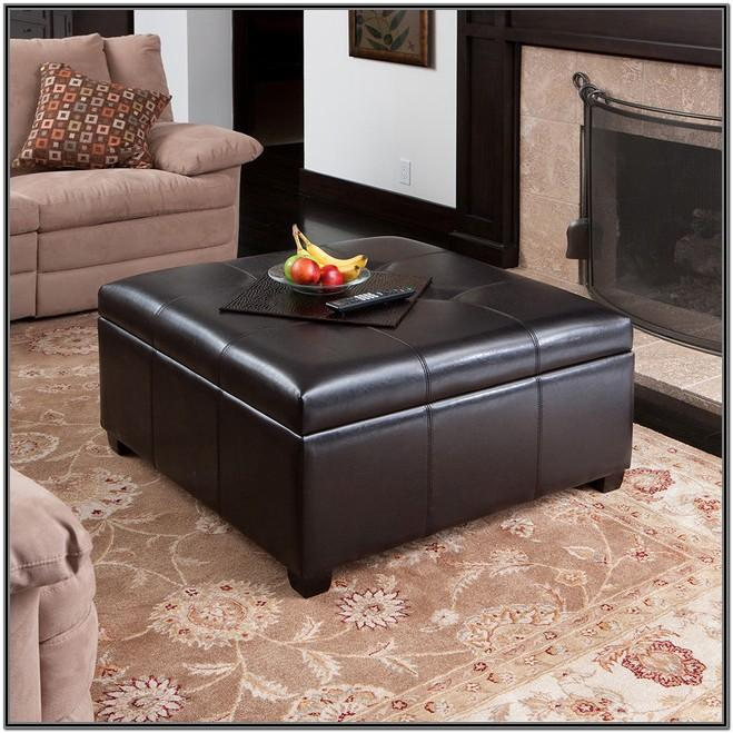 Living Room Large Ottoman Coffee Table