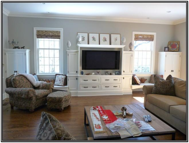 Living Room Media Center Ideas