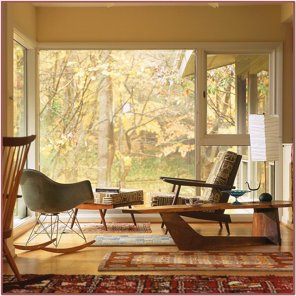 Living Room Mid Century Modern Rugs