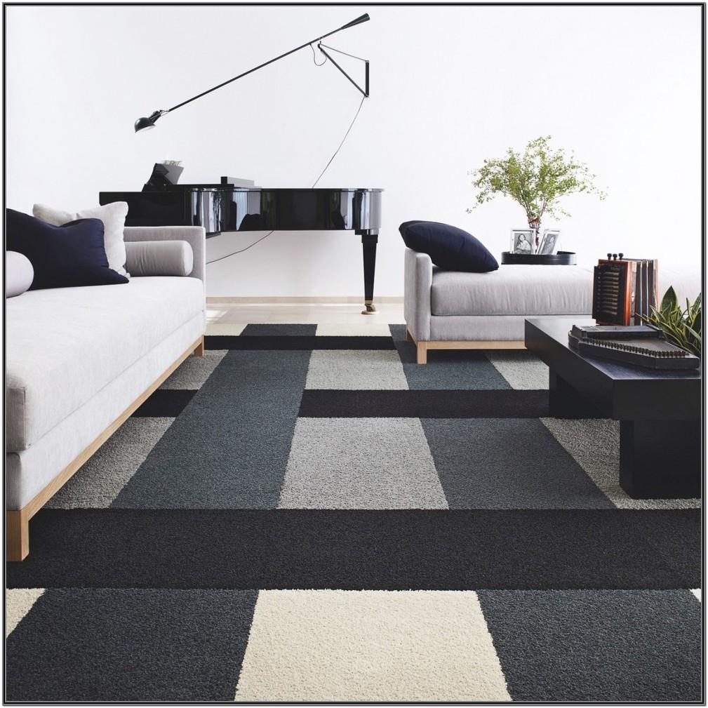 Living Room Modern Carpet Tiles