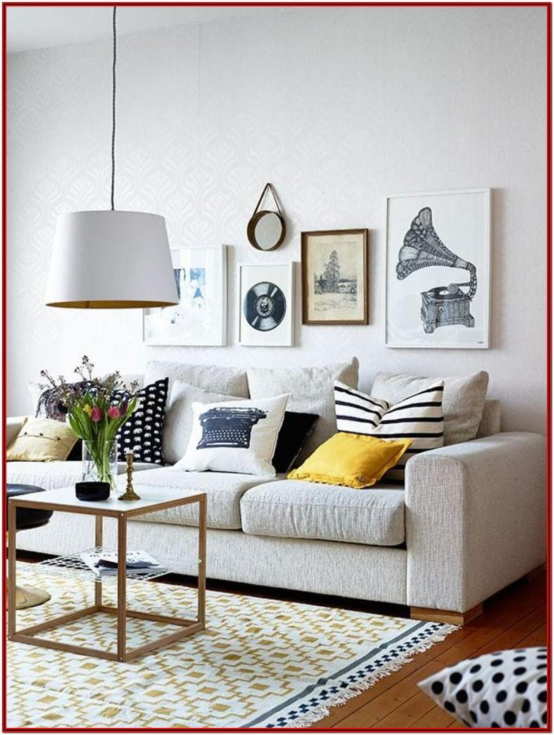 Living Room Modern Gallery Wall Ideas