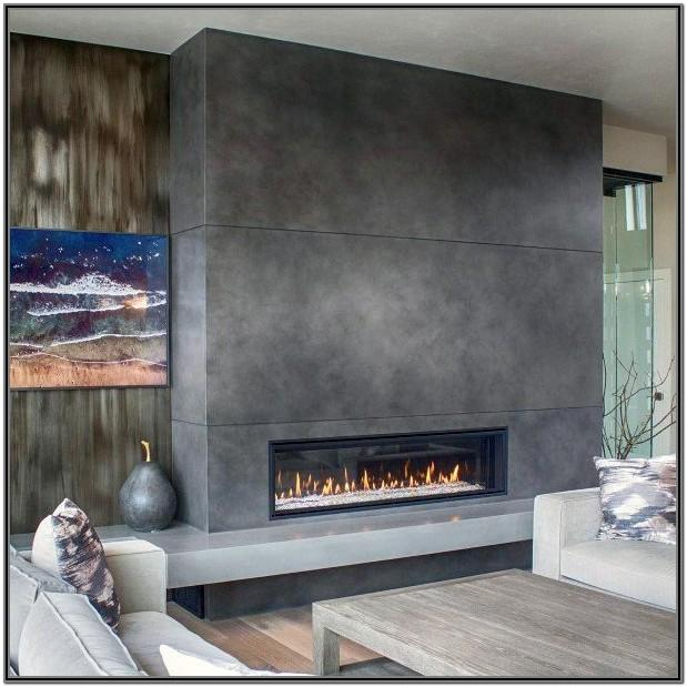 Living Room Modern Gas Fireplace Ideas