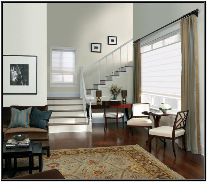 Living Room Modern Living Room Roman Shades