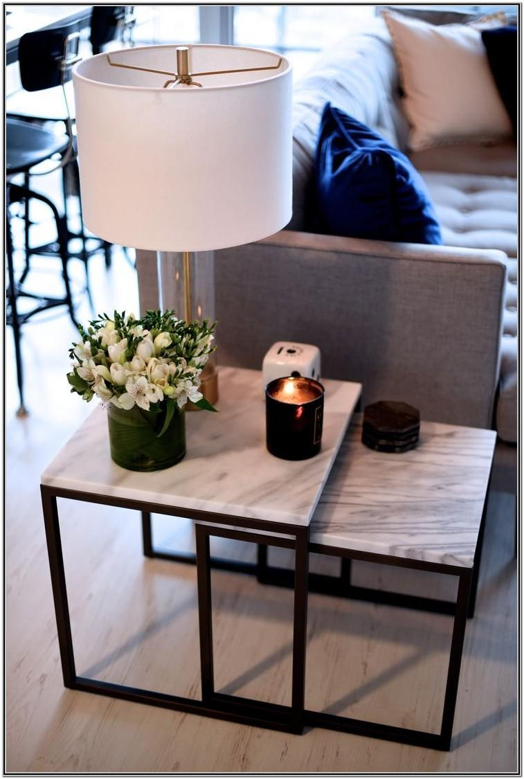 Living Room Modern Side Table Decor