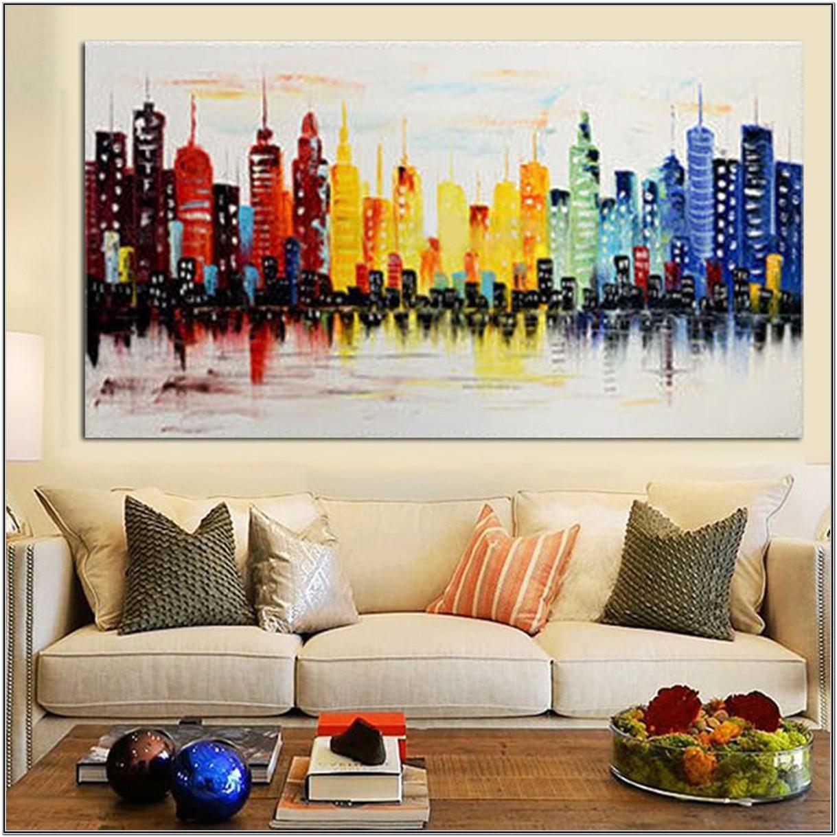 Living Room Modern Wall Art Decor