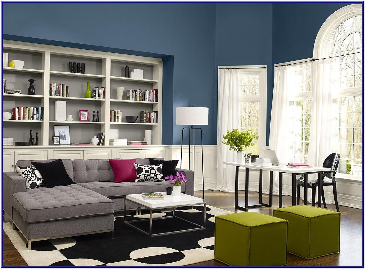 Living Room Paint Color Ideas Blue