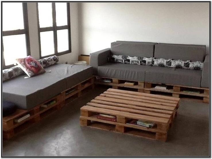 Living Room Pallet Furniture Diy