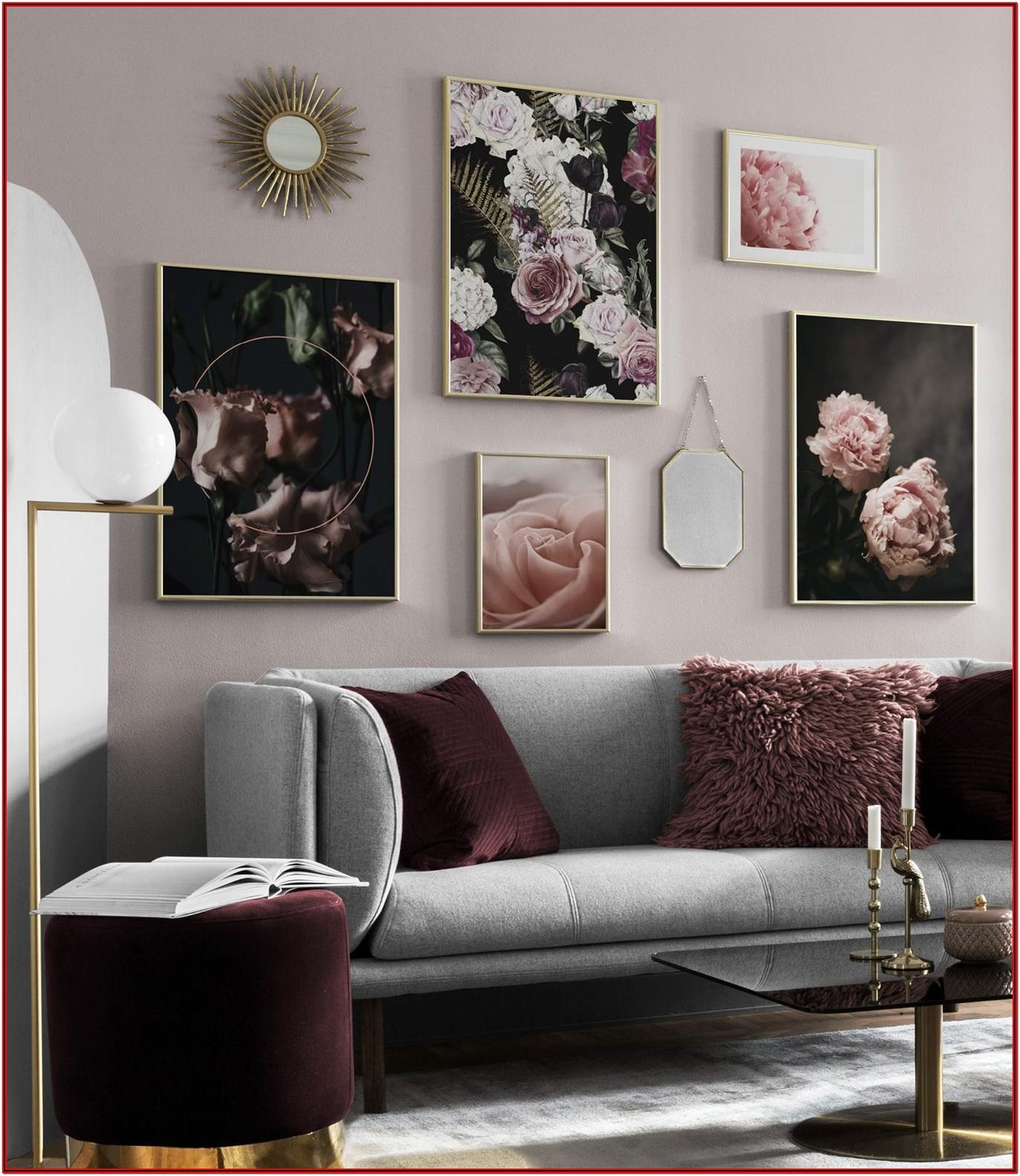 Living Room Photo Gallery Wall Ideas