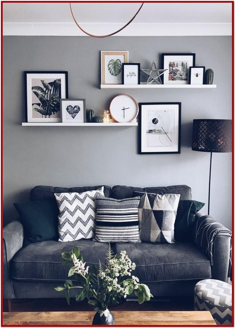 Living Room Picture Gallery Wall Ideas